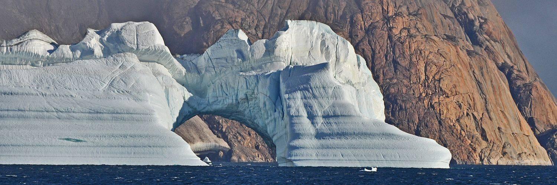 Eisberg Scoresby Sund