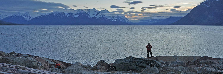 Abendstimmung in Nordost Grönland