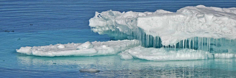 Meereis - Nordwest Spitzbergen Kreuzfahrt
