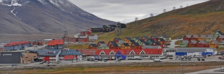 Longyearbyen - Startpunkt der Nordwest Spitzbergen Reise