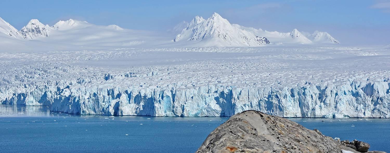 Gletscher in Nordwest Spitzbergen