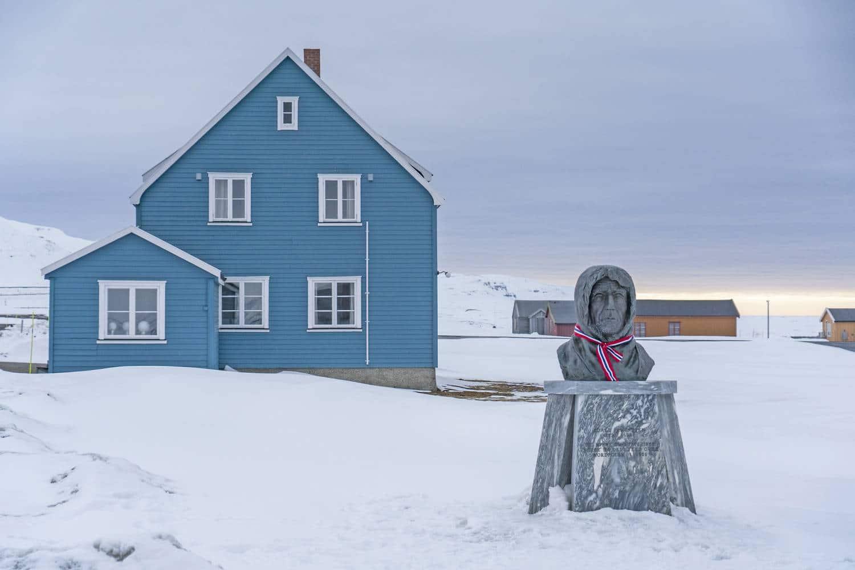 Ny Alesund - ein Ziel der Nordwest Spitzbergen Kreuzfahrt