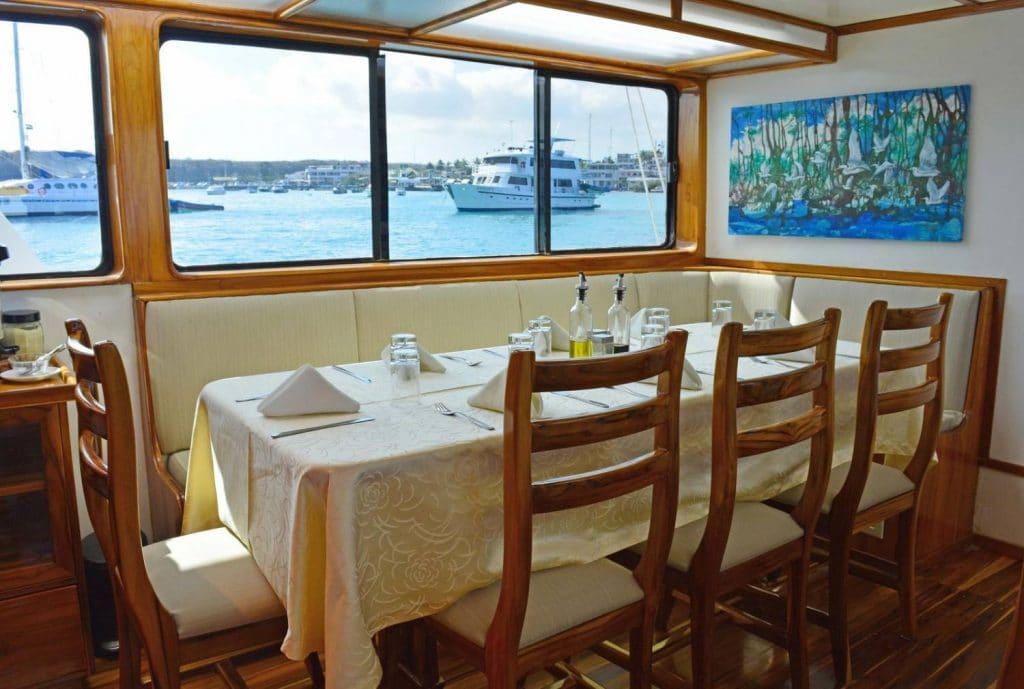 Eden Restaurant Gadventures Galapagos