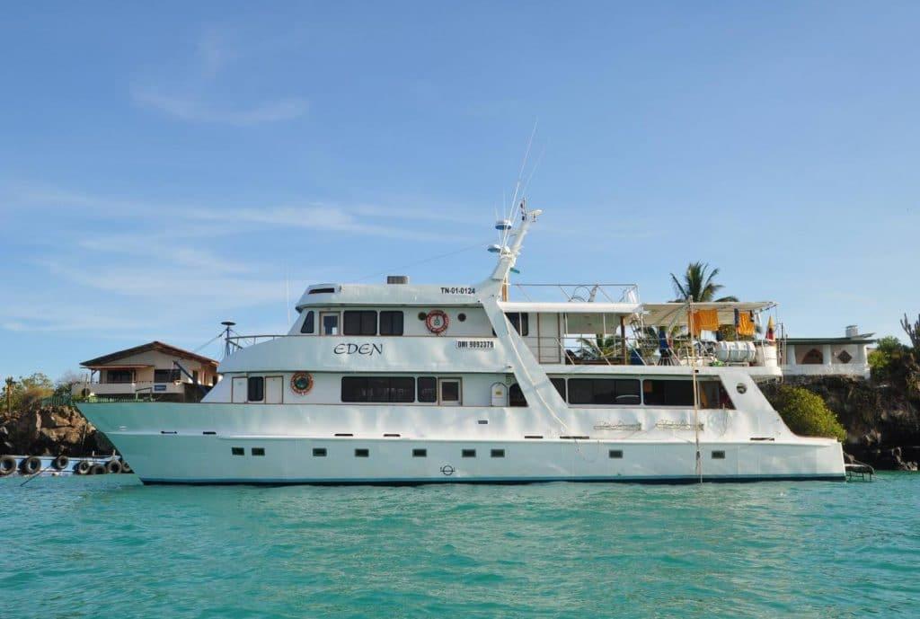 Eden aussenansicht Gadventures Galapagos