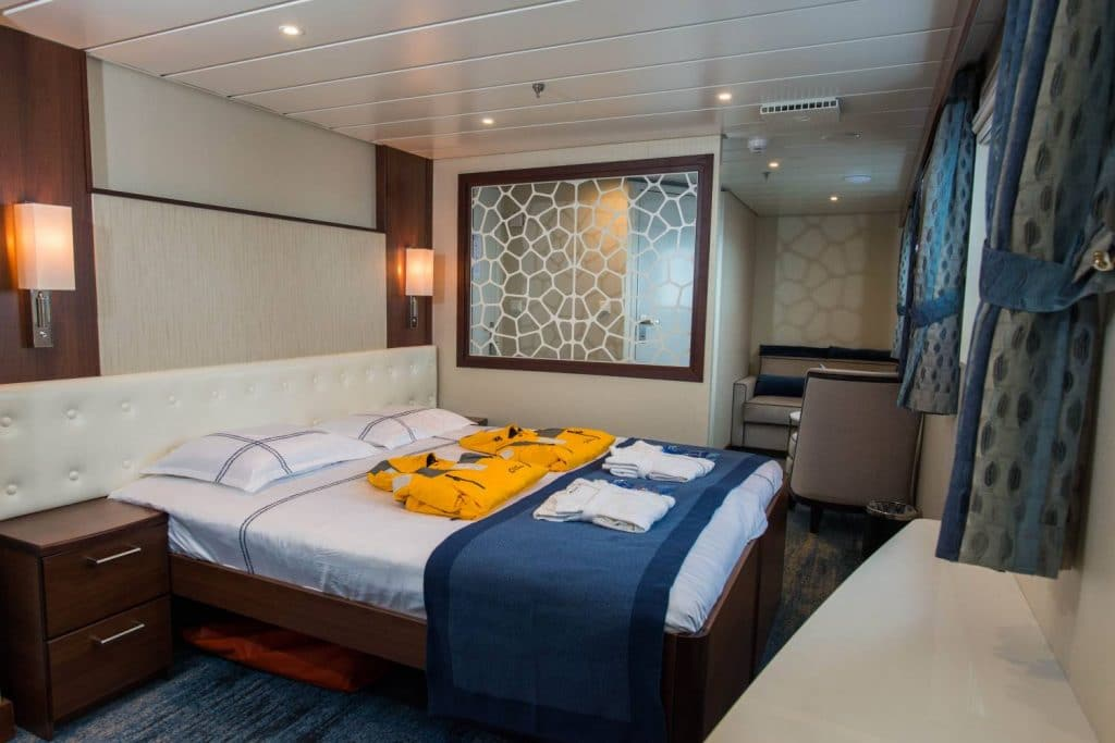Ocean Adventurer Owners suite