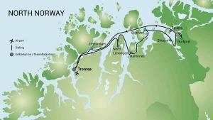Karte RVR Nordnorwegen Oceanwide