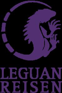 Leguan-Reisen-Logo-Vektor