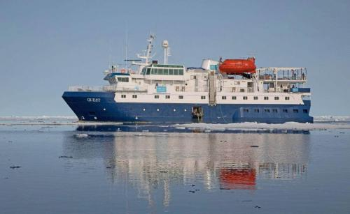 Das Expeditionsschiff QUEST